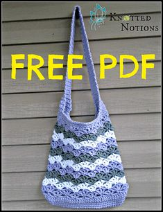 Ravelry: Chevron Shells Market Bag pattern by Amber Schaaf
