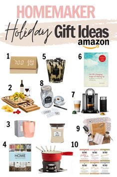 Looking for a great home gift to give this holiday season? This post is perfect for gift ideas for homemakers. Click for an awesome home gift guide, perfect for birthdays Christmas and special dates . #giftguide #holidaygiftguide #homemakergiftideas #giftideas