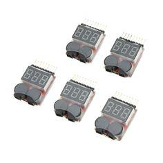 $51.65 (Buy here: https://alitems.com/g/1e8d114494ebda23ff8b16525dc3e8/?i=5&ulp=https%3A%2F%2Fwww.aliexpress.com%2Fitem%2FF00872-50-50Pcs-Lipo-Battery-Voltage-Tester-Volt-Meter-Indicator-Checker-Dual-Speaker-1S-8S-Low%2F32353134965.html ) F00872-50 50Pcs  Lipo Battery Voltage Tester Volt Meter Indicator Checker Dual Speaker 1S-8S Low Voltage Buzzer Alarm 2 IN 1 FS for just $51.65