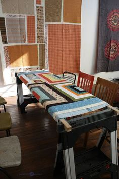 DIY quilt frame | DIY quilting frame for home sewing machines ... : build your own quilt frame - Adamdwight.com