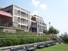 Jaypee University of Information Technology (JUIT): The campus is spread over 25 acres on the green slopes of Waknaghat. The town of Kasauli can be seen from the university on one side, far on the hill. | www.indipin.com #indipin