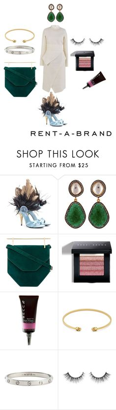 """""""7"""" by explorer-15102451941 on Polyvore featuring мода, Prada, Carousel Jewels, M2Malletier, Bobbi Brown Cosmetics, Becca, Gucci и Cartier"""
