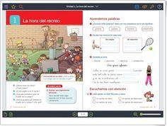 Unidad 1 de Lengua de 2º de Primaria Interactive Activities, Spanish Language, Unity, United States, Words