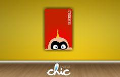 Desenho Os Incríveis Placa Decorativa Parede Chic www.paredechic.com.br Coleção de Placas decorativas modelos infantis. Decore sua parede #PlacaDecorativa #AdesivoDeParede #ParedeChic #DecoracaoDeParede #Decoracao #ideias #infantil #decoracaoinfantil