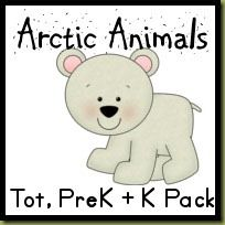 FREE Arctic Animals Printable Packs Kinder Pre K And Toddler