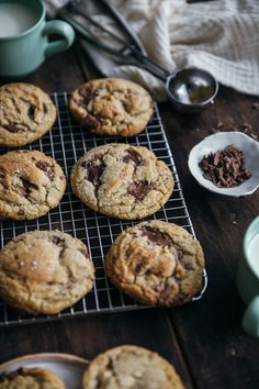 Plus une miette dans l'assiette Cookies Et Biscuits, Deli, Muffin, Cooking, Breakfast, Desserts, Foodies, Table, Cooking Recipes
