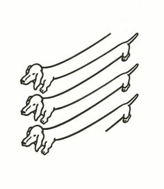 Weiner dogs.. Endless weiner dogs. | 22 Optical Illusion GIFs That Will Make You Feel High
