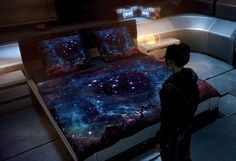 Mass Effect - I so want these space sheets