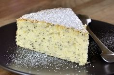 Lemon Chia Seed Cake. I have been wanting To try chia seeds, looks like a good way to try them.