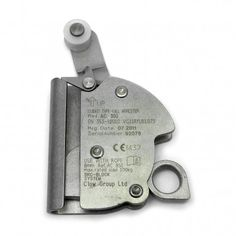 Guided type fall arrester to be connected to a PPE Safety Harness by means of a Snap Hook. For use with 8mm diameter steel ropes.