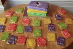 book cookies and cake