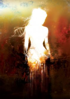 Abstract Woman Silhouette Painting Anything is possibleBelieve in your power create change Make dreams come true