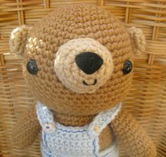 Amigurumi Teddy Bear plushie by anapaulaoli on Etsy, $60.00