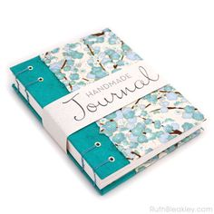 Im delighted to introduce this stunning aqua, gold and white plum blossom journal to my line of Chiyogami Journals! Chiyogami is the Japanese name for this special handmade paper with colorful textile patterns that first became popular in the 1800s and was used for as gift wrap in the royal court. Photos dont do this gorgeous book justice, as the many layers of bright and colorful paint that make up the pattern on cover give the paper a lovely dimension you can actually feel with your…