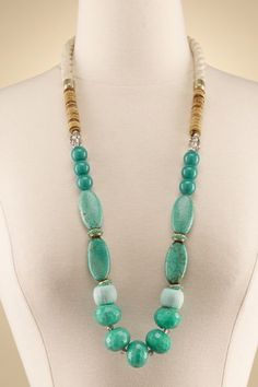 Calypso Necklace - Turquoise Necklace, Tropical Necklace | Soft Surroundings