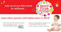 """FREE $10 Babies""""R""""Us Gift Card for Parents with Baby Born in 2013!"""