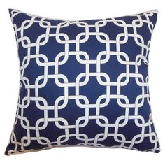 You should see this Qishn Cotton Pillow in Navy on Daily Sales!