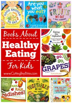 Healthy nutrition Books about healthy eating for kids. These books feature bright and colorful fruits and vegetables. They may be just the thing to encourage your toddler, preschooler, or kindergartener to try something new for dinner tonight! Nutrition Education, Nutrition Activities, Kids Nutrition, Health And Nutrition, Nutrition Shakes, Nutrition Guide, Nutrition Poster, Health Literacy, Nutrition Jobs