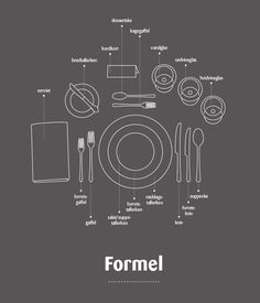 Ideer & inspiration - formel borddækning Wedding Planner Book, Wedding Decorations, Table Decorations, Plate Sets, Good To Know, Diy And Crafts, Life Hacks, Projects To Try, Table Settings