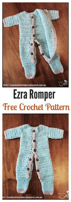 Crochet Ezra Romper Free Pattern