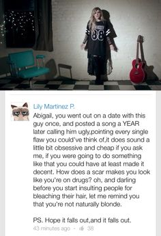OMG this girl is the bomb she totally told off michaels ex thank you for sticking up for MICHAEL
