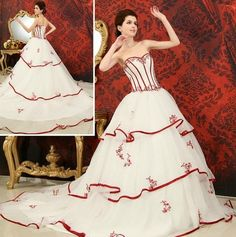 NEW 2013 Organza Ball Gown Wedding Dress Quinceanera Dress Pageant Bridal Gowns | eBay