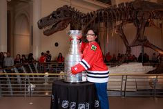 The Stanley Cup at The Field Museum