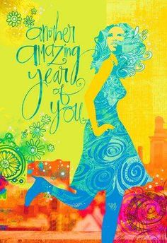 Amazing Year Of You Birthday Card For Her
