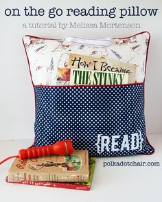 An On-the-Go Reading Pillow | 31 Cheap And Easy Last-Minute DIY Gifts They'll Actually Want