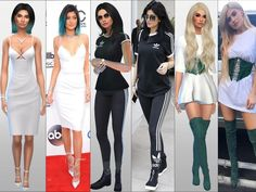 Kylie Jenner :) I hope you will like her. Found in TSR Category 'Sims 4 Young Adult Female Sims'