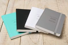 Cuadernos Ogami Serie Profesional en www.landofpaper.es: turquesa, negro, blanco o gris. Hojas interiores de papel Repap®, hecho a partir de polvo de piedras. Ogami notebooks Professional Serie at www.landofpaper.es: turquoise, black, white or grey. Made with the exclusive Repap® paper.