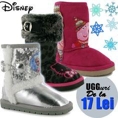 De nerefuzat, modele de cizme UGG copii online de la 17 Lei, 100% originale!
