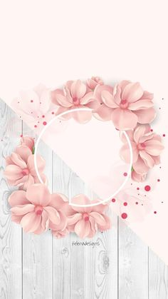 Rose Gold Wallpaper, Flower Background Wallpaper, Framed Wallpaper, Pastel Wallpaper, Cute Wallpaper Backgrounds, Flower Backgrounds, Background Pictures, Background Patterns, Cute Wallpapers