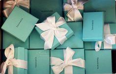 tiffany boxes   via bellazm