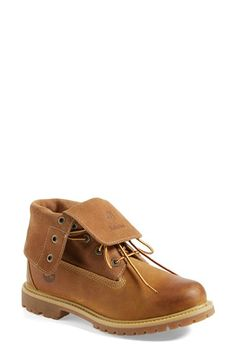 Free shipping and returns on Timberland Waterproof Leather Boot (Women) at Nordstrom.com. Timberland's Earthkeepers® eco-conscious philosophy informs an iconic burnished leather waterproof boot with a lugged sole and anti-fatigue insole. A suede-lined collar can be worn up or folded down for multiple styling options.