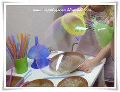 Äpplegrön: Super Seifenblasen MIT Rezept