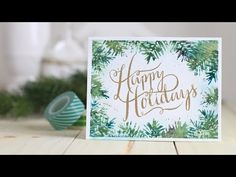 Stamp Away With Me: VIDEO: Gansai Tambi Stamping - watercolor painted onto stamps. . .really good video...substitute for mama elephant stamp wishing you