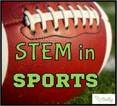 #Stem in sports resources! Lessons and activities for the classroom or at home! In time for the #SuperBowl #football, heart rate, relay race, math proportions and ratios