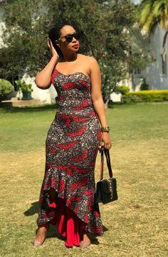 Off Shoulder African Dress,African Print Dress,African Clothing,M… Women Fashion African Print Jumpsuit, African Print Dresses, African Dress, African Prints, African Fabric, African Attire, African Wear, African Women, African Outfits