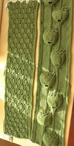 1000+ images about Knit Flowers, Leaves & Fruits on Pinterest Knitted f...