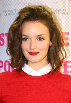 Charlotte Le Bon-new hair inspiration.