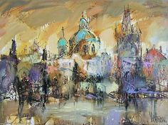 Artwork >> Sergey Yatnov >> Charles Bridge (Oil On Canvas) - Inches x 31 Inches) Charles Bridge, Artworks, Painting, Art, Painters, Artists, Painting Art, Paintings, Painted Canvas