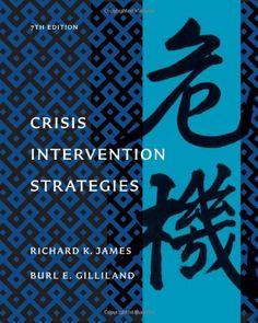 Crisis Intervention Strategies (HSE 225 Crisis Intervention) - http://www.healthbooksshop.com/crisis-intervention-strategies-hse-225-crisis-intervention/