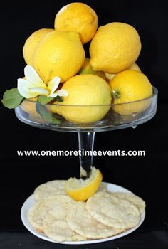 One More Time: When Life Gives you Lemons...Make Cookies