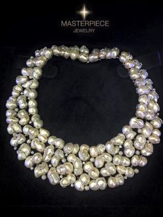 I know putting it on my wish list is paramount to total insanity, but considering that this is the most fabulous necklace I have ever seen, I have to do it!  Exquisite Baroque Pearl and Diamond Necklace / Masterpiece (=)