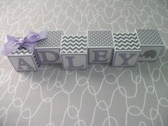 Find a Name for your Baby! - Brooklyn Baby Name - Ideas of Brooklyn Baby Name - Baby Name Blocks Gray Lavender Brooklyn Baby Name Ideas of Brooklyn Baby Name Baby Name Blocks Gray Lavender Elephant Themed Nursery, Baby Girl Elephant, Newborn Nursery, Nursery Bedding, Baby Name Blocks, Diy Baby Gate, Unusual Baby Names, Brooklyn Baby, Baby Shower Games