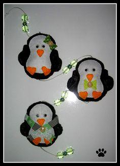 Móbile Pinguim by Simo www.criandoeinovando.elo7.com.br, via Flickr