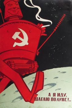 """I am walking on the Moon."" Lunokhod as a Soviet citizen, circa 1970"