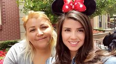 Day off at Disneyland with mom  #disneyland #dayoff #mom #exhausted  by _.camilaveron