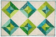 Stress Free Quilting with Machine Embroidery and Nancy Zieman